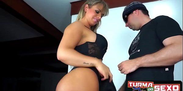 Angel Lima, loira chegou pro anal no seu bundão - Angel Lima - Frotinha Porn Star -  -